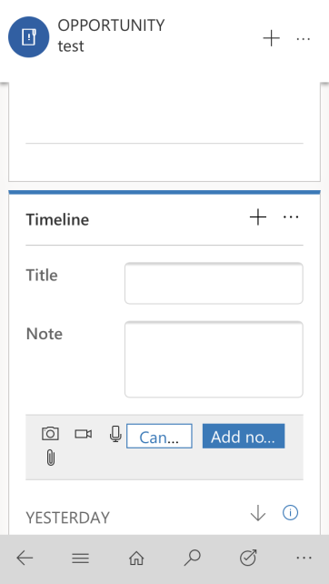 PoC – speech to text notes in Dynamics 365 – oneDynamics